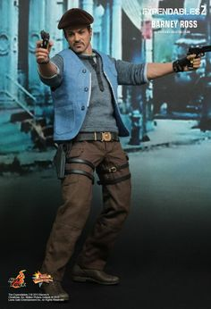 Hot Toys / Expendables 2 Barney Ross