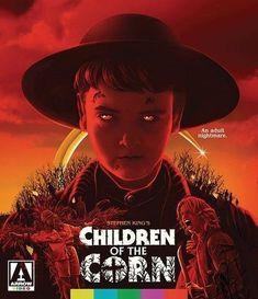Children of the Corn (Blu-ray, 2017) Arrow/Cult King Horror w/Slip Cover! *NEW*
