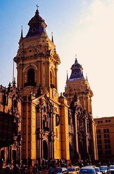 Cathedral of Lima, Peru. Catedral de Lima, Peru
