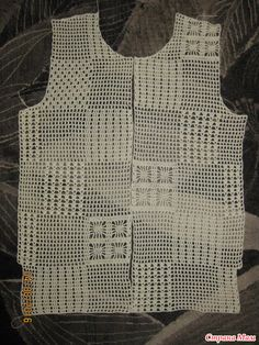 Crochet Jumper Pattern, Gilet Crochet, Crochet Cap, Crochet Shirt, Crochet Jacket, Crochet Patterns, Crochet Instructions, Crochet For Boys, Crochet Designs