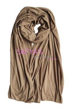 Châle en jersey - Camel