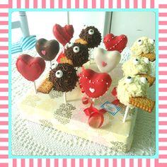 Muttertag Cake Pops  #sandybel #cakepops #fürth #muttertag