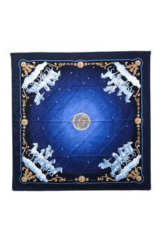 Vintage Hermes Cosmos Jacquard Silk Scarf by LXR on @HauteLook