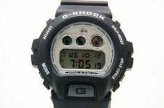 """as well as 2,000 Casio G-SHOCK 1st Edition """"STUSSY LIMITED EDITION"""" limited DW-6900SS-1EV black silver  $815"""