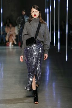fashion 2018 Sally LaPointe Fall 2018 Ready-to-Wear Fashion Show Collection Mode 2018 Trends, Fashion 2018 Trends, Autumn Fashion 2018, Autumn 2018 Trends, Fashion Week 2018, Fashion 2016, Daily Fashion, Look Fashion, Fashion Outfits