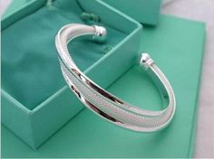 wholesale Silver plated Dreamlike Hypotenuse Bangle for women Men Jewelry Free Silver-plated Bracelet YFB019