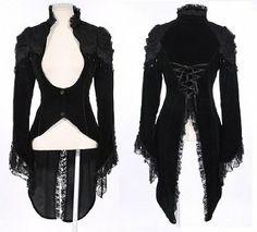 Kostüme festliche Jacke Blazer Bolero Bluse V Kei Gothic Lolita Kera RQBL Frack: Amazon.de: Bekleidung