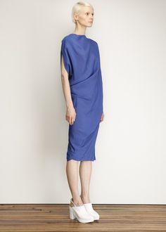 Vivienne Westwood Anglomania Harp Dress (Cobalt)