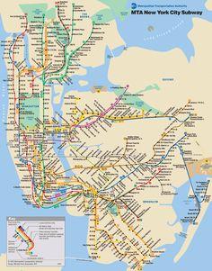 Veja como usar o metro de Nova York e mais informações úteis como horário de funcionamento, mapa e vantagens e desvantagens de cada um dos bilhetes.