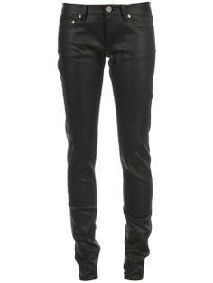 Women - Saint Laurent Coated Skinny Jeans - L'Eclaireur Shop