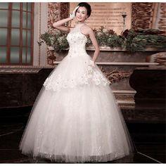 ウェディングドレス 二次会 ロングドレス ウエディングドレスパーティードレス ホワイトドレス 花嫁 HS47