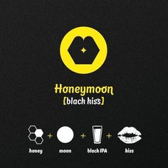 MEKFARTIN Honeymoon {black kiss} | graphic design by Martin Fek