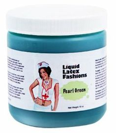 Ammonia Free Liquid Latex Body Paint - 32oz Pearl Green by Liquid Latex Fashions. $27.99. The only Liquid Latex that is Ammonia Free!. Easy Application & Easy Removal. Liquid Latex Body Paint will not rub off onto your clothing or furniture like other body paints. Will not stain the skin. Liquid Latex Fashions manufactures liquid latex body paint in a variety of colors, these body paints are made with the highest quality of FDA approved ingredients. Because our product...