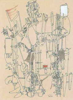Trying to See the Invisible, It's Just Misunderstanding.: Provisional Data of Yves Tanguy's Drawing Works (6) 1950s, Date Unknown