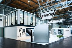Enercon stand by Ache | Stallmeier at Hannover Messe 2016, Hannover – Germany » Retail Design Blog