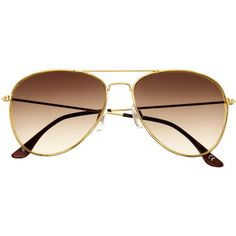 H&M Sunglasses ($5.73) ❤ liked on Polyvore featuring accessories, eyewear, sunglasses, glasses, óculos, fillers, gold, gold sunglasses, h&m glasses and aviator sunglasses