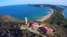 Fly high above Barrenjoey Lighthouse, Narrabeen Lagoon and other northern beaches locations thanks to a new drone video uploaded this week.