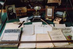 Chekhov's desk at his White Dacha in Yalta.