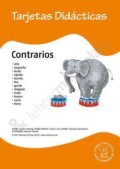 Bildkarten Spanisch: contrarios
