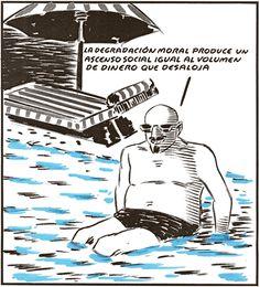 El Roto - Principio de Arquímedes