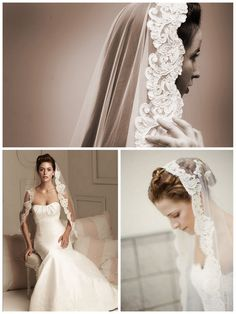 Keeping with Spanish traditions and will definately be wearing a Mantilla vail for my special day
