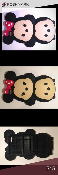 Micky mouse carton iPhone 6plus case It is a brand new rubber iPhone 6 Plus case in good condition Disney Accessories Phone Cases