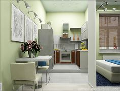 Картинки по запросу идеи для 1 комнатных маленьких квартир