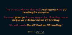 3D printing as easy as 2D printing