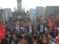 Muera el Mal Gobierno!!! Increíble ver a decenas de miles de ciudadanos unidos por México. #TodosSomosAyotzinapa #EPNBringThemBack- http://www.pixable.com/share/5VNSz/?tracksrc=SHPNAND2&utm_medium=viral&utm_source=pinterest
