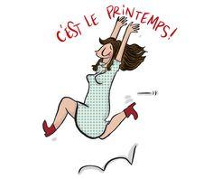 Illustrations, Illustration Art, Image Fb, Agenda Planner, Practical Gifts, Hello Spring, My Mood, Stickers, Vintage Images