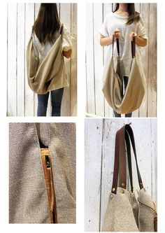 there is no alternative: Borsa multiuso in camosc Soft Leather Handbags, Large Leather Tote Bag, Brown Leather Backpack, Canvas Leather, Furoshiki, Sacs Design, Ipad Bag, Tote Backpack, Casual Bags