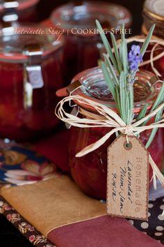 Lavender Plum Jam Recipe.