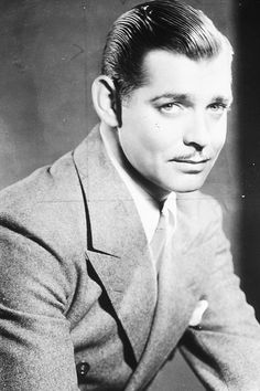 Clark Gable, c. 1930s.
