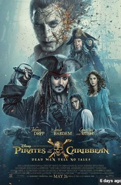 Pirates of the Caribbean 2017 Movie Hindi Dubbed 720p Full Hd