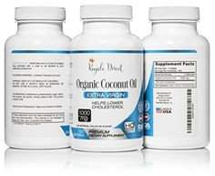 Organic Coconut Oil, Organic Oil, How To Stay Healthy, Healthy Life, Coconut Oil Capsules, Gas Relief, Linseed Oil, Lower Cholesterol, Vitamins