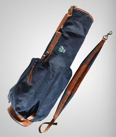 62ee1a3a2f The Waxed Canvas MacKenzie Walker - The MacKenzie Golf Bag Company