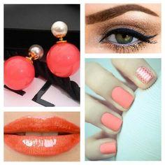 Cada detalhe do visual conta. Inspire-se e arrase no look. Brincos Dondoka Dior Inspired Colors você encontra na Marquee de Luxe.