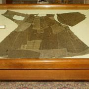 One of the robes said to have belonged to St Francis of Assisi.