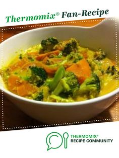 Veggie Coconut Curry by Marie. A Thermomix <sup>®</sup> recipe in the category Main dishes - vegetarian on www.recipecommunity.com.au, the Thermomix <sup>®</sup> Community.