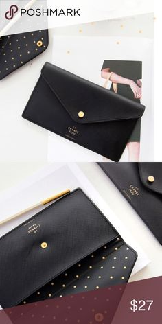 🎀HOST PICK🎀 Button wallet pouch ✨LAST ONE✨ The La chance flat pouch with snap button closure. You can use the la chance passe pouch to keep passport, usb, key, pens, pencils, coin, memo, bills, cards, name card, small cosmetics and more. Price is firm.   7.5 X 4.3 inches Madewell Bags Wallets