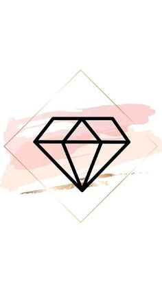 Pin on Insta stories cover Pink Instagram, Instagram Logo, Wallpaper Quotes, Hd Wallpaper, Lock Screen Wallpaper, Logo Ig, Diamond Icon, String Lights In The Bedroom, Diamond Wallpaper