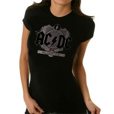 Exclusive - AC/DC Girls Wear - BLACK ICE FOIL - Girls Wear - AC/DC - Labyrinthe Rock