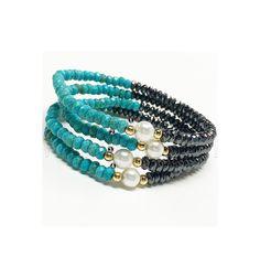 Bracelet By Vila Veloni Stone Style
