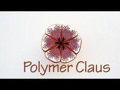 Easy Calla lily cane polymer clay tutorial - Millefiori Fimo - YouTube