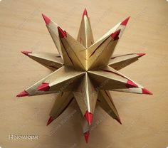 Кусудама Мастер-класс Оригами Звезда от Paolo Bascetta МК Бумага фото 1