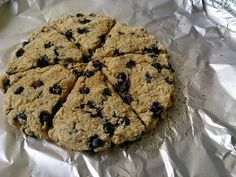 Suzanne's Kitchen : Blueberry scones Simply Filling