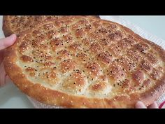 Hagyományos török ​​kenyér Ramadan Pide RECİPE | Tökéletes kenyér recept - YouTube Bread Recipes, Cooking Recipes, Homemade Pita Bread, Turkish Kitchen, Ramadan Recipes, Turkish Recipes, Bread Rolls, Savoury Dishes, Food Videos