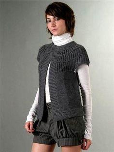 Source by edithlunaz tejidos a dos agujas Knit Vest Pattern, Sweater Knitting Patterns, Knitting Designs, Cardigan Au Crochet, Knit Crochet, Popular Crochet, Clothes For Women, Outfits, Arrow Keys