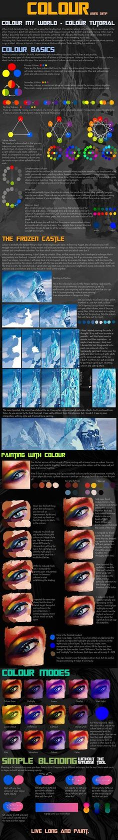 Psychology : The Big Colour Tutorial by nataliebeth on deviantART