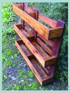 Diy Planters Outdoor, Garden Planters, Outdoor Gardens, Planter Ideas, Garden Table, Balcony Garden, Diy Planter Stand, Outdoor Plant Stands, Urban Planters